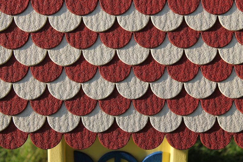 mini dachschindeln rot und weiss mini dachschindeln. Black Bedroom Furniture Sets. Home Design Ideas