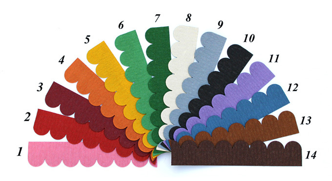 Farbfacher Mini Dachschindeln Shop De Dachschindeln Und